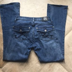 Rock & Republic Bootcut Kasandra Jeans Sz 4 short